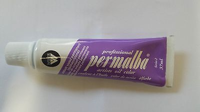 PERMALBA ARTISTS OIL COLOUR 37ml TUBE COBALT VIOLET PERMANENT  SERIES 2 DUCKPOND