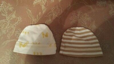 Carters 0-3 Months cotton baby hats boys girls