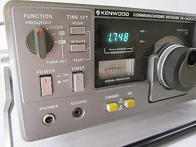 Vintage Kenwood R-1000 Communications Receiver + Box SN:0050846