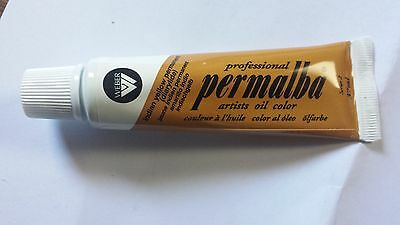 PERMALBA ARTISTS OIL COLOUR 37ml TUBE INDIAN YELLOW PERMANENT SERIES 2 DUCKPOND
