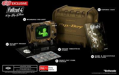 Fallout 4 Pip-Boy Edition with music CD PS4 Aus NEW Fall out Pip boy Pipboy