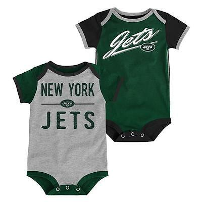 New York Jets Baby 2 Piece Onesies - Descendant (FREE SHIPPING) 0-3 months