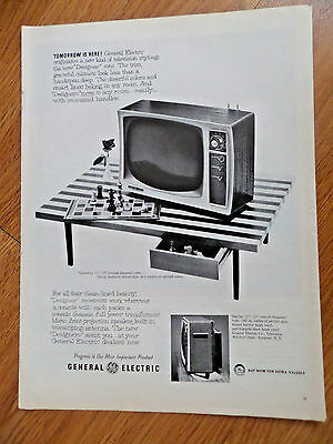 1958 TV Television Ad GE General Electric Gramerecy 17   Game of Chess Theme