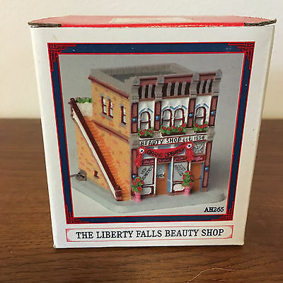 Liberty Falls Americana Collection The Liberty Falls Beauty Shop AH265