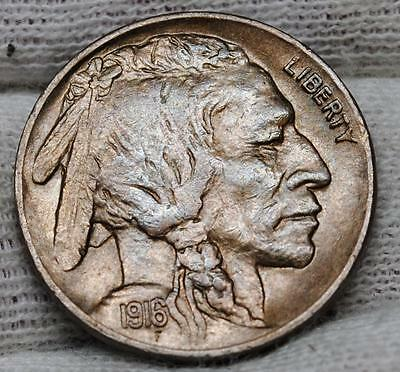 1916 P Buffalo Nickel (830) Choice Unc