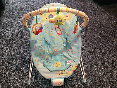 BRIGHT STARS VIBRATING BOUNCER BABY CHAIR with MUSIC SONGS