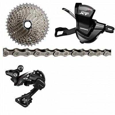 2016 Shimano Deore XT M8000 1x11Speed Combo 11/46T Groupset New