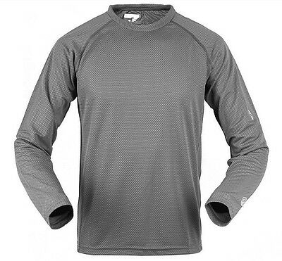 SALOMON XXL Long Sleeve Hiking Quick Dry T Shirt Men ultraviolet protection 35+