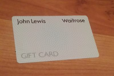 £10 John Lewis And Waitrose Gift Voucher
