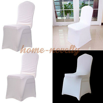 100X Elastic Stretch Spandex Lycra Chair Seat Covers Wedding Banquet Decor Party