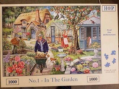 The House of Puzzle - No. 1 In The Garden 1000 Piece Jigsaw