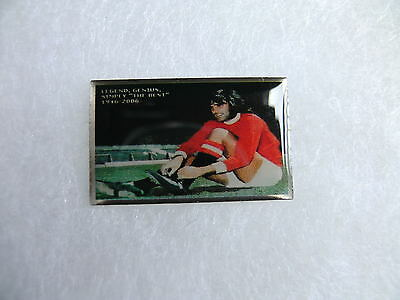 United Badge - George Best - Manchester