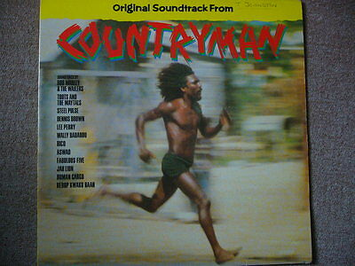 Countryman - Orig Soundtrack: Jah Lion, Toots, Lee Perry, Aswad - Rare 2 x LP