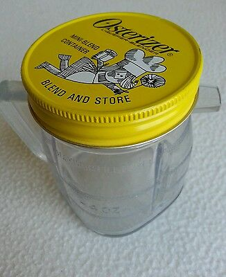 Vintage Osterizer Mini Blend Container Blend and Store Oster Perfect!