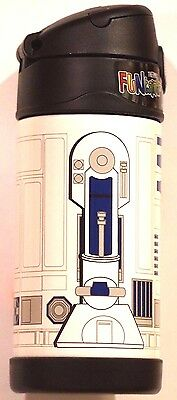 NEW! Thermos Disney Star Wars R2D2 FUNtainer Bottle Stainless Steel Insulated