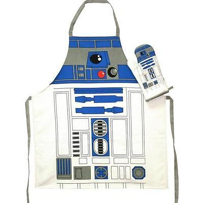 Star Wars - R2-D2 Apron And Oven Mitt Set - New & Official Disney Lucasfilm