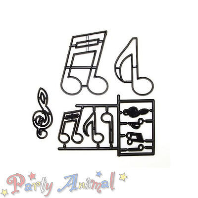 Sugarcraft Patchwork Cutters -EXTRA LARGE MUSIC NOTES- Cake Decorating Craft
