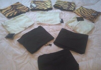 Job Lot Of  Ten 3 In 1 One Size Unisex Hat Neckwarmer And Balaclava