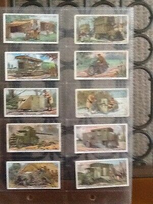 Military Motors  1916 Set 50 - Passed By Censor - Wills Cigarette Cards