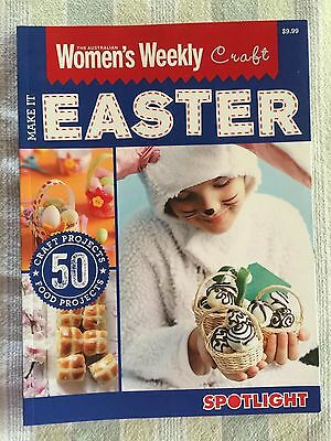 The Australian Women's Weekly Craft Make It Easter Book Spotlight Rrp $9.99
