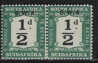 SOUTH WEST AFRICA 1928 Sc#J81 6d OVERPRINT POSTAGE DUE MH 2651