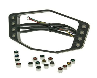 Signal lights frame KOSO for DB02 and DB02R