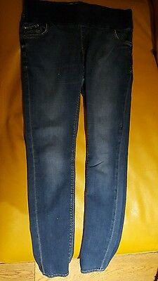 Topshop Maternity Jeans 12 L32 Leigh