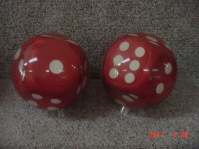 Clear Red Dice Bowling Ball-New 15Lb New