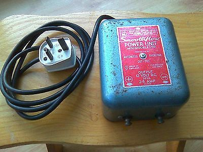 Model Transformer 12 volt. HornbyTrains. Scalectric Cars.Vintage Transformer.