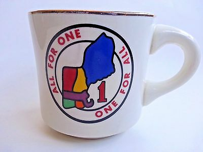 Boy Scouts Mug Region 1 of Original 12 - Northeast- All For One, One For All -1