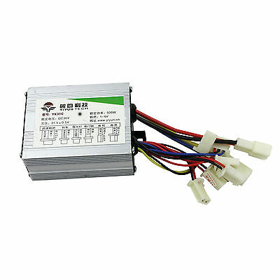 Motor Brush Speed Controller for Electric Bike Bicycle Scooter 36V 500W