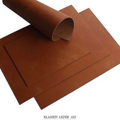 Buffalo Leather Cognac Pull-Up Finish 2,8 mm Thick A3 Cowhide Croupon 40