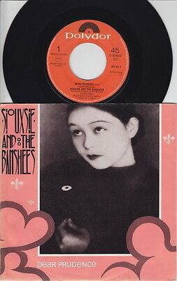 SIOUXSIE & The BANSHEES * Dear Prudence * 1983 Dutch 45 * GOTH