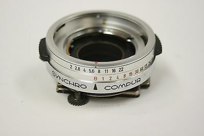 New replacement Kodak shutter(synchro compur)w/X sync for 2.0 lens