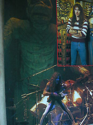 Iron Maiden (Steve Harris) - Magazine Cutting (Full Page Photo) (Ref Ng)