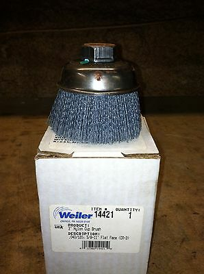 Weiler 3 Inch Coated Nylon Cup Polisher  (100 Available)