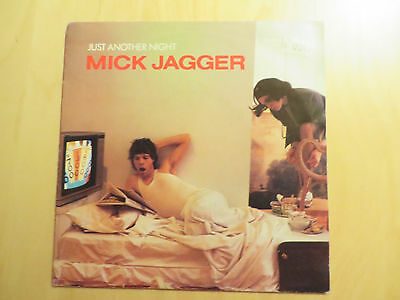 "Vinyl, Schallplatte, 7"",Single, MICK JAGGER, Just another night"