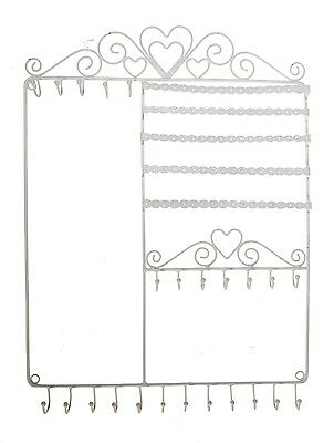 Large Jewellery Tree Wire Wall Mounted Rack Hanger Holder Stand Necklace Earring