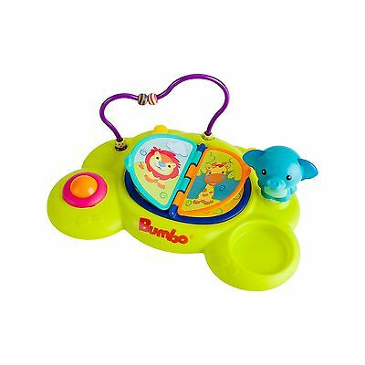 Bumbo Playtop Safari Suction Toy Activity Center New Open Box Item