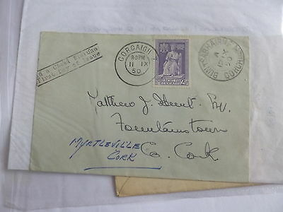 1950 Irish Ireland Eire Holy Year  FDC First Day Cover Cork