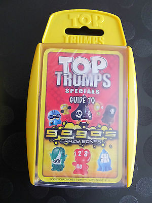 Guide To Gogo's Crazy Bones Top Trumps Specials New Sealed Trading Card Set