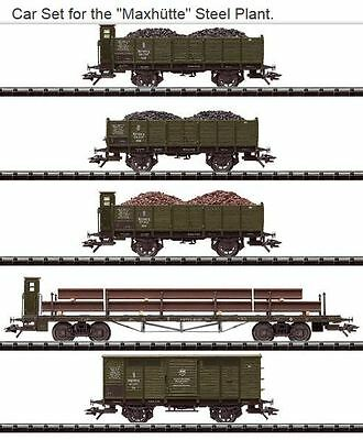 H0 1:87 Trix 24304 Bavarian Freight cars K.Bay.Sts.B. era1 trains Germany scale