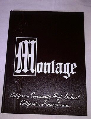 1960 California Community High School Yearbook California Pa