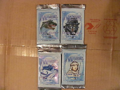 """Magic the Gathering--4 unopened """"Ice Age"""" booster packs"""