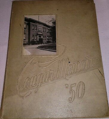 1950 Charleroi Pa High School Yearbook