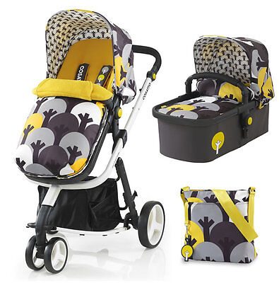Brand new Cosatto giggle 2 3 in 1 in moonwood with bag & footmuff clearance line