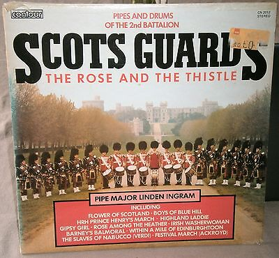Pipes And Drums Of The 2Nd Battalion Scots Guard The Rose And The Thistle Cn2012
