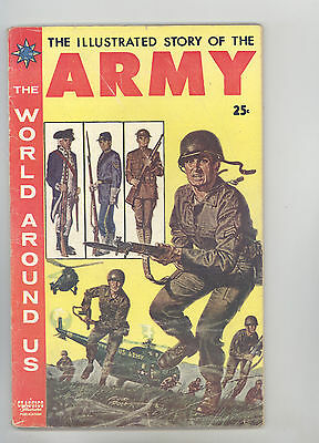 World Around Us #9 VGFN Story of the Army, Disbrow, Ingels, Orlando