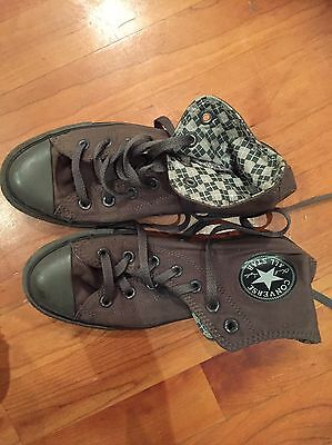 Converse All Star Women's Dark Grey Size 4 1/2