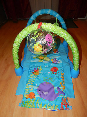 Fisher-Price Ocean Wonders Baby Gym playmat activity gym